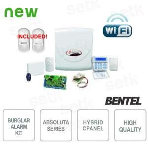 Promo Kit Antifurto Absoluta... Bentel Security ABS-14KITSW-PLUS Ibridi