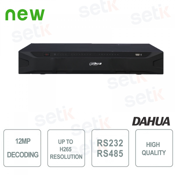 DECODIFICATORE DAHUA 12MP H265