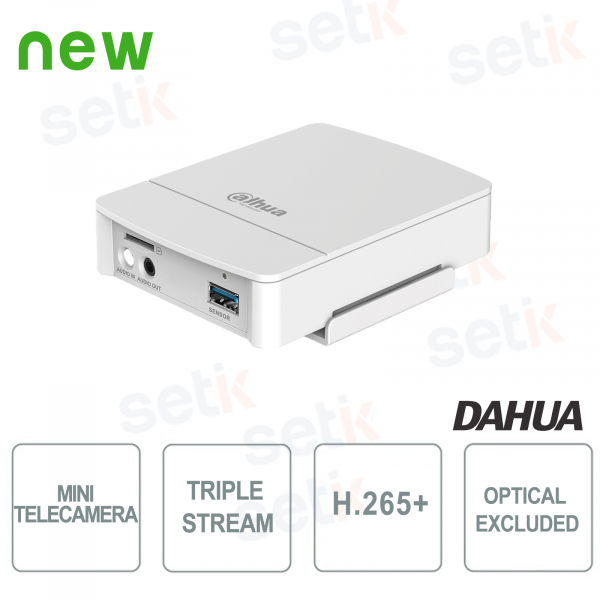 Mini Telecamera IP ONVIF Dahua 4MP WDR ANALISI VIDEO