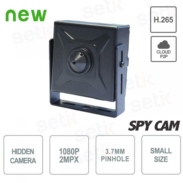 Telecamera Nascosta IP 2 Megapixel Pinhole 3.7mm H.265 - Setik