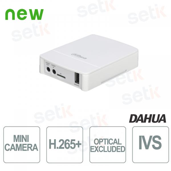 Mini Telecamera IP ONVIF PoE Dahua 2MP VIDEO ANALISI