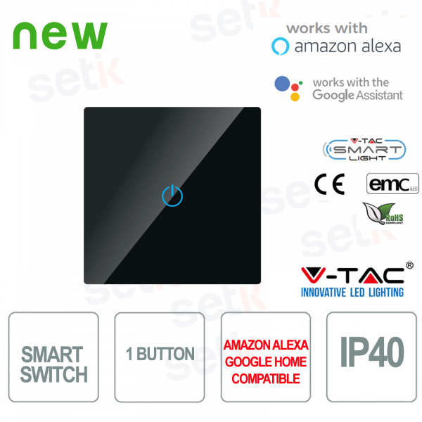 WIFI Smart Home Switch IP40 Alexa Google Home V
