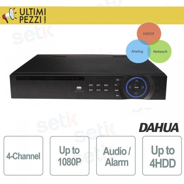 DVR 4 Canali Tribrido Analogico/IP/HDCVI - DAHUA