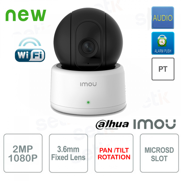 Imou Dahua PT Indoor 2MP Wireless IP Camera A
