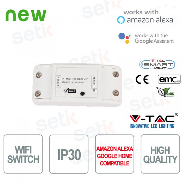 Interruttore WIFI Smart Home Google Home V-TAC