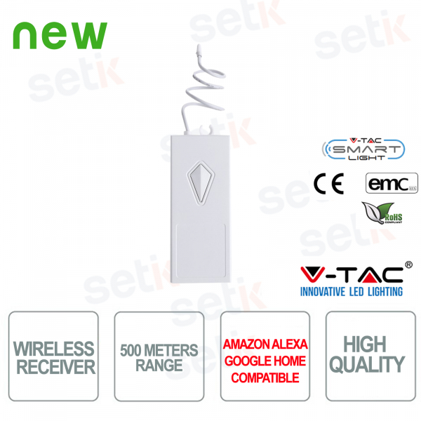 Wireless receiver up to 500MT V