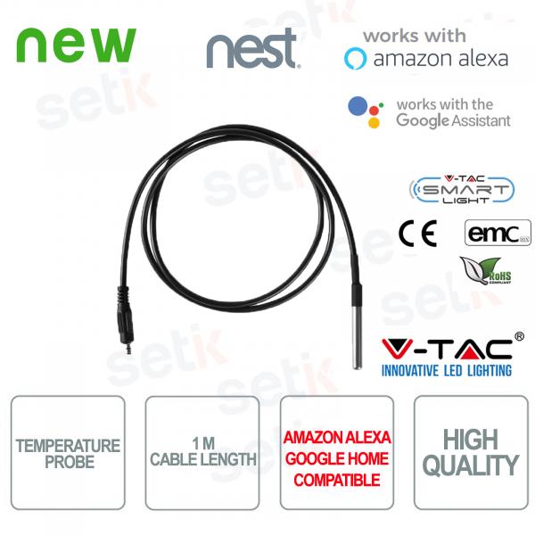 V-TAC Sonda di temperatura Amazon Alexa Google Home Nest