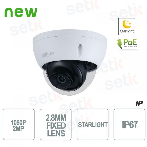 Telecamera IP 1080P Starlight H.265 WDR PoE - Dahua