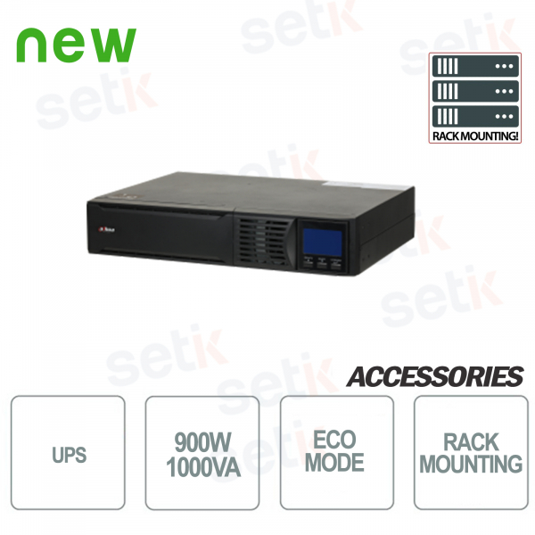 Uninterruptible power supply UPS 1000VA 900W