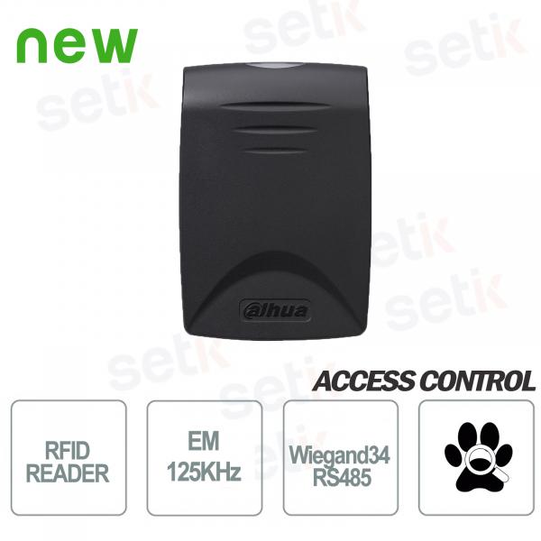 Proximity reader RFID EM cards 125KHz RS485 Dahua