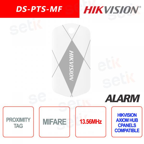 TAG Wireless Hikvision AXIOM Hub per lettori RFID MIFARE 13.56MHz