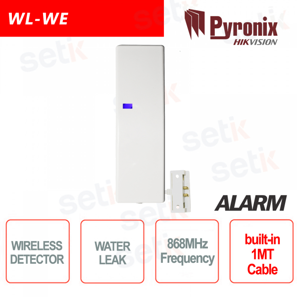 Sensore allagamento rivelatore antiallagamento wireless 868MHz Pyronix Hikvision AXIOM HUB