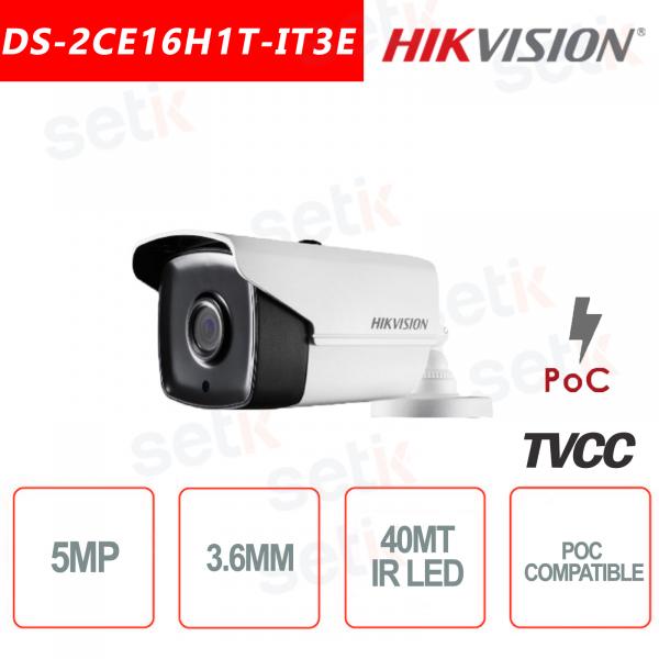 Hikvision 5MP Bullet Camera HD Turbo HD-TVI 3.6mm IR 40M