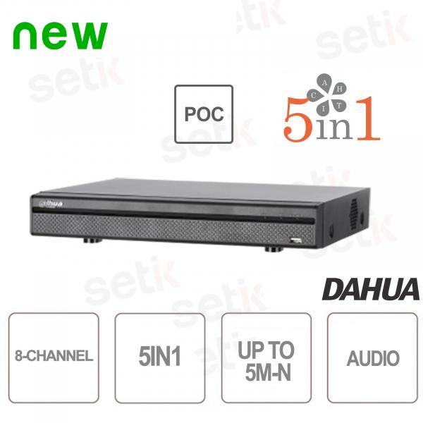 XVR 8 Channels 5M-N HDCVI AHD TVI ANALOG IP PoC - D