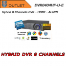DVR Ibrido 4 Canali Effio 960H + 4 IP - Full HD - OUTLET