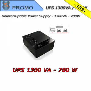 Video Surveillance UPS ECO STRIP 1300VA / 780W Monofase