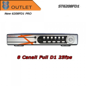 DVR 8 Canali h264 FULL D1 25FPS-  Allarme/HDMI Serie PRO - Outlet