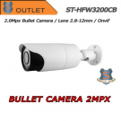 Telecamera 2.0MPX IP Bullet - IR Varifocal 2.8-12mm Setik - Sample