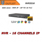 Nvr 16 Canali  IP - 2HD Dahua - Outlet
