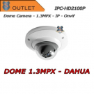 1.3 MPX IP Cameras Dome 6mm PoE Dahua - Outlet