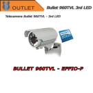 Effio-P Bullet 960TVL Varifocal 2.8-12mm Camera 3rd GEN LED - OUTLET