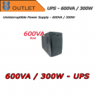 UPS 600VA / 300W single-phase - ABLEREX - Outlet