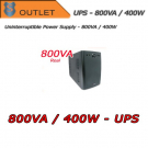 UPS 800VA / 400W single-phase - ABLEREX - Outlet