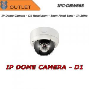 D1 IP Dome Camera 8mm Fixed Lens - 30Mt IR Lighter tvcc cctv - DAHUA