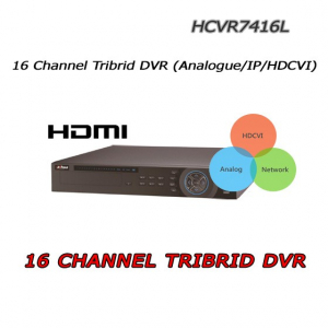 16 -ch thrre-hybrid Analogue/IP/HDCVI by DAHUA
