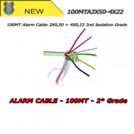 Alarm cable, 100mt skein - 2X0,50 + 4X0,22 - SETIK