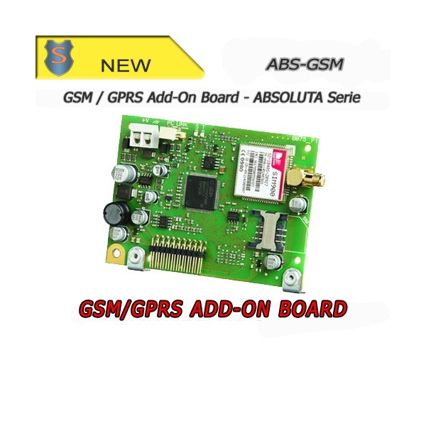GSM/GPRS Add-on Board for ABSOLUTA Series control panels - Bentel