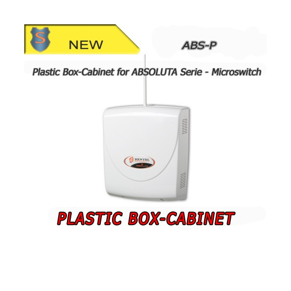 Plastic box-cabinet for ABSOLUTA series. With sabotage microswitch - BENTEL