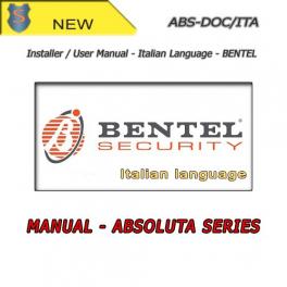 Abs doc ita kit manuale installatore utente italiano per for Bentel absoluta manuale installatore