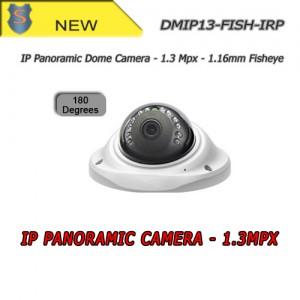 IP Network Dome Camera 1.3Mpx - 1.16mm Fisheye lens - Indoor - Setik