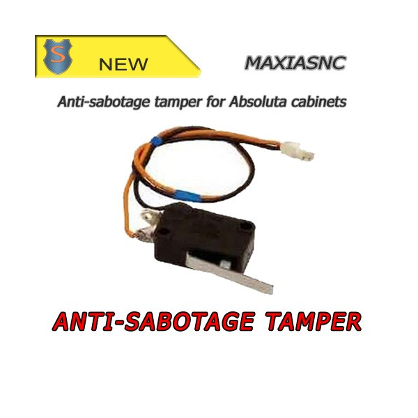 Antisabotage accessory for Absoluta cabinets by Bentel