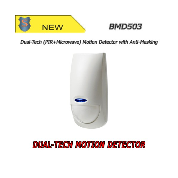 Dual-Tech (PIR + Microwave) Motion Detector with Anti-masking - BMD503 - Bentel