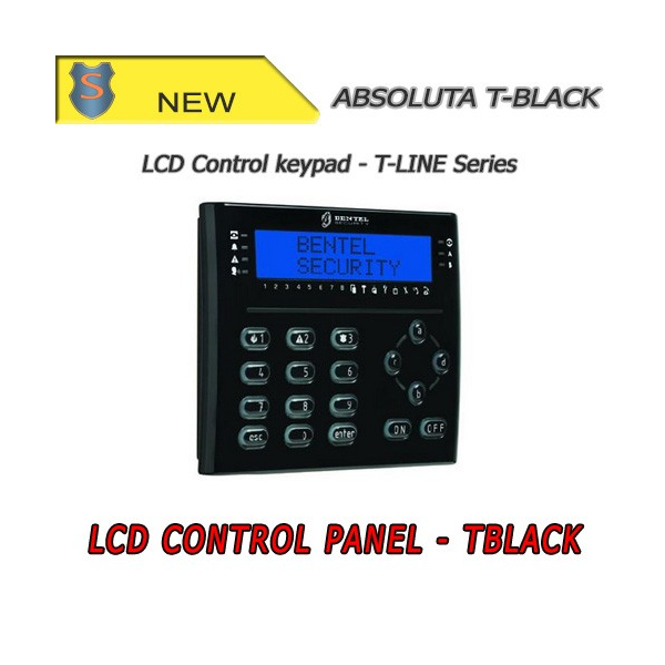 Tastiera LCD Nera con lettore di prossimità e Terminali I/O - Bentel