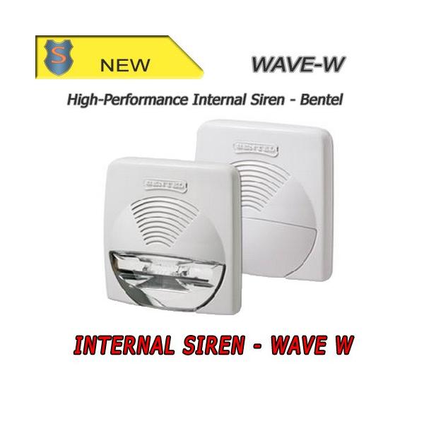 Sirena 12 V bianca da interno - Bentel