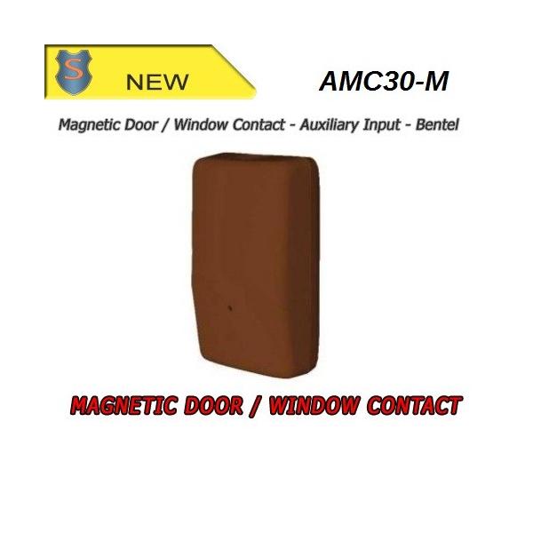 Door/Window Magnetic Contact w/ Aux. Input (433MHz) - Brown