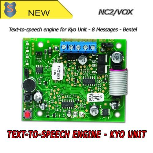 Nc2 vox scheda sintesi vocale bentel prezzo for Bentel kyo 320 prezzo
