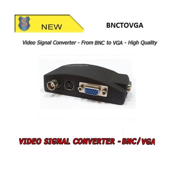BNC - VGA  Video signal converter - Setik