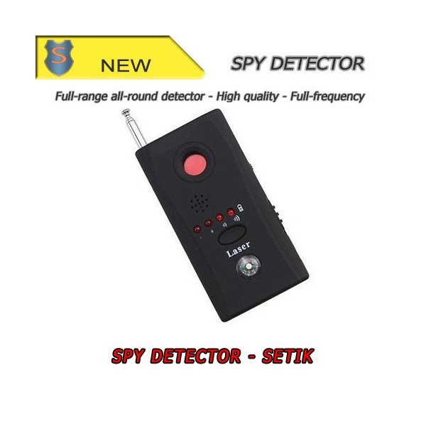 Anti-Spy Bug Hidden Signal Finder Detector Spy Camera GSM Lens Device - Setik