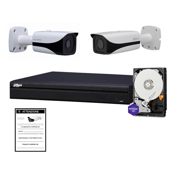 kit dh pr ip 08 40 8 channel ip 4k dahua kit 8 cameras. Black Bedroom Furniture Sets. Home Design Ideas