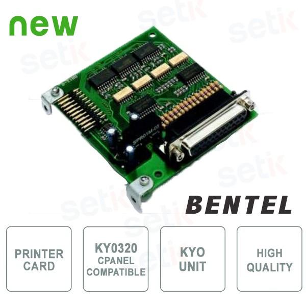 K3 prt2 scheda stampante per centrale serie kyo ky0320 for Bentel kyo 320 prezzo
