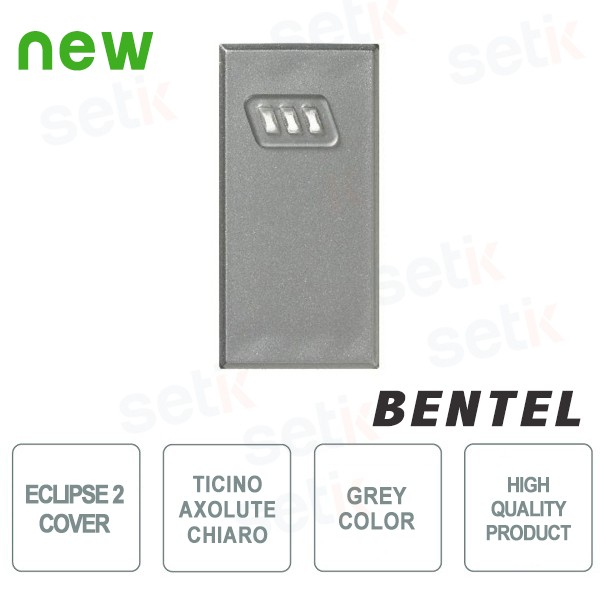 Cover for Eclipse 2 Proximity Readers - Ticino Axolute Chiaro Series - ECL2C-AXC by Bentel