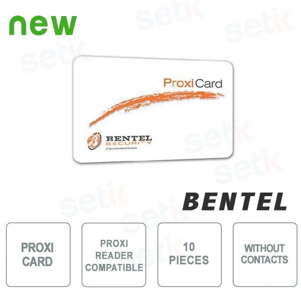 10x Tessere di Prossimità Senza Contatti per lettore PROXI - Bentel
