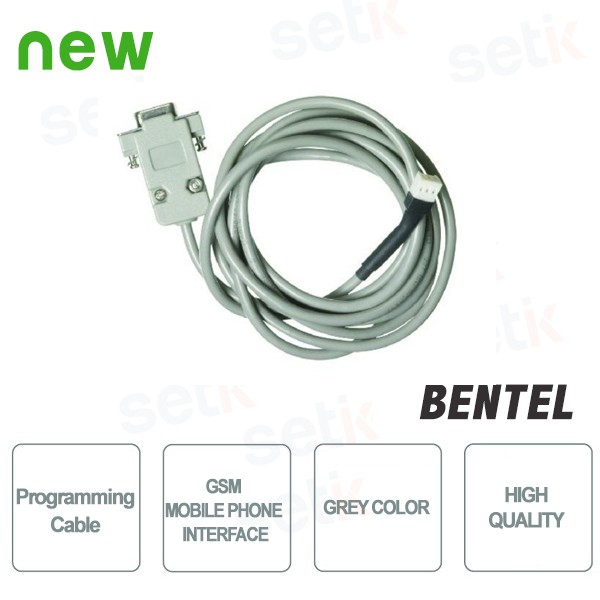 PROGRAMMING CABLE FOR GSM MOBILE PHONE INTERFACE - Bentel Security