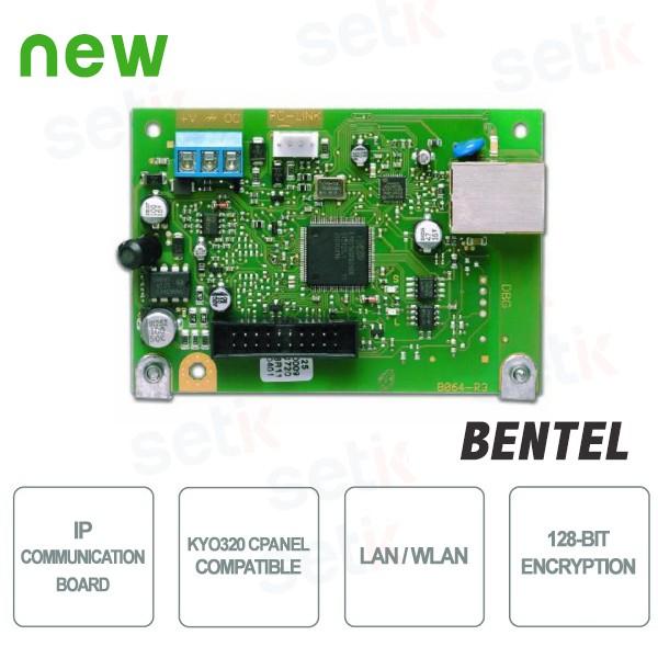 K net carte de communication ip pour kyo320 bentel for Bentel security suite