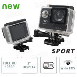 Sports action camera Full HD... Setik SPT1080W Sport Camera