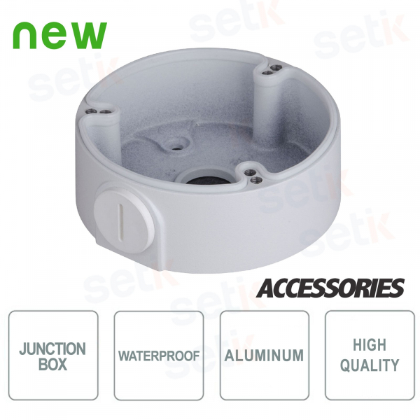 Aluminium Junction Box - Aluminium- Waterproof - Dahua